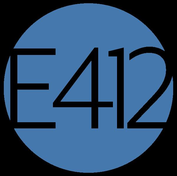 E412 Consulting LLC Logo